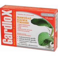 Tabletki GARDLOX x 16 tabletek do ssania smak ziołowy