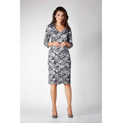45a6c748b7c1dc Suknie i sukienki Nommo, Kolor: szary ceny, opinie, recenzje ...