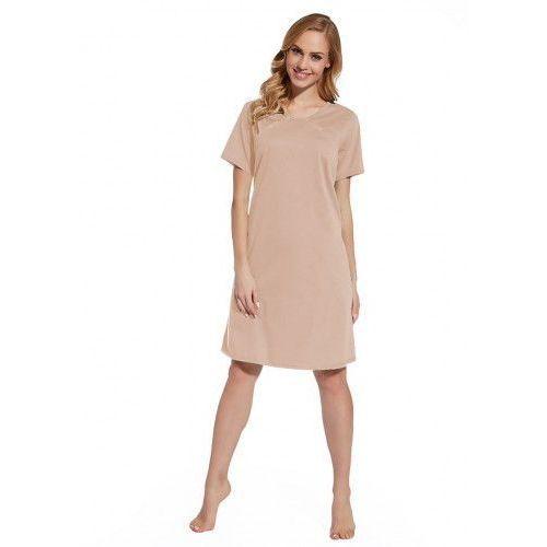 Koszula nocna ciążowa i do karmienia - Pudrowy Róż, kolor różowy