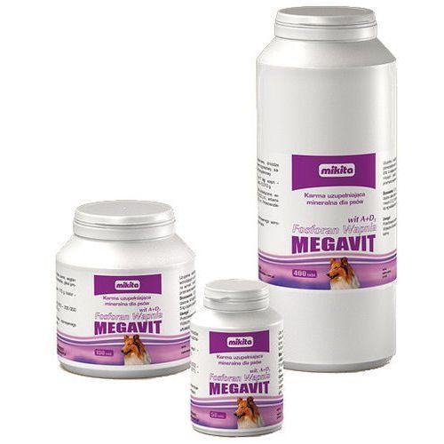 Tabletki Mikita MEGAVIT Fosforan Wapnia A+D3 150 tabletek
