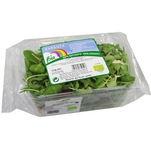 Mix sałat świeży bio około 0,125 kg marki Świeże dystrybutor: bio planet s.a., wilkowa wieś 7, 05-084 leszno k.