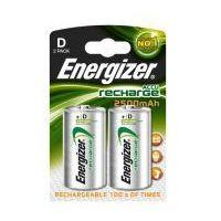 Energizer 2 x akumulatorki r20 d ni-mh 2500mah