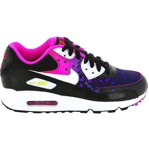 Nike Damskie air max 90 724875-002 czarno-różowe