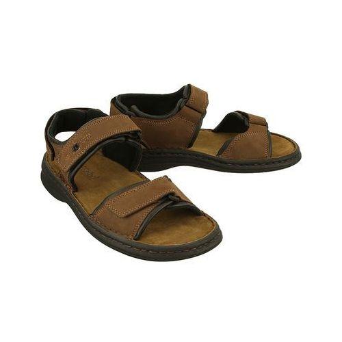 48d44b5060e76 JOSEF SEIBEL 10104 11 341 RAFE brasil/schwarz, sandały męskie  (4042834029273) -