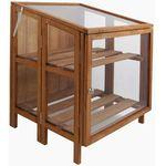 Esschert Design Mała szklarnia z drewna GT32 (8714982030680)