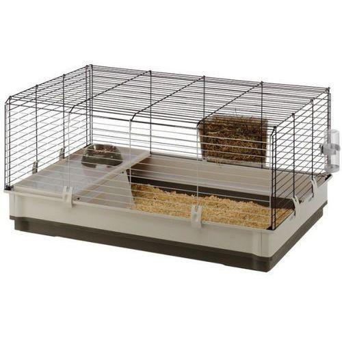 krolik large 100 składana klatka dla świnki, królika z wyposażeniem marki Ferplast