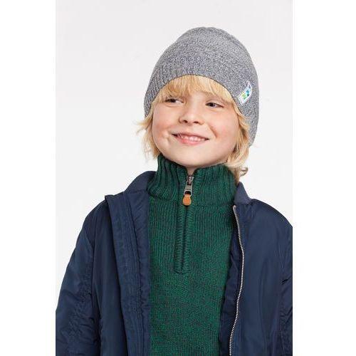 Wiosenna czapka chłopięca PaMaMi - Jeansowy - Jeansowy, kolor niebieski