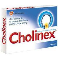 Pastylki Cholinex x 32 pastylki do ssania