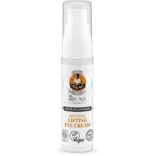 Bania agafii natural lifting eye cream, 30 ml. naturalny liftingujący krem pod oczy - bania agafii. darmowa dostawa do kiosku ruchu od 24 White agafia