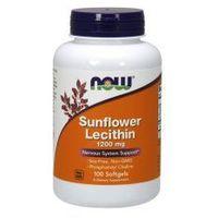 NOW FOODS Sunflower Lecithin 1200mg, 100kaps. - lecytyna słonecznikowa