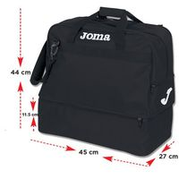 Torba Joma BAG TRAINING III BLACK-MEDIUM-