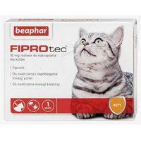 Beaphar Fiprotec - roztwór do nakrapiania przeciwko ektopasożytom dla kotów 50mg Dostawa GRATIS od 99 zł + super okazje (8711231155101)