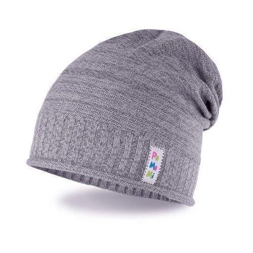 Pamami Wiosenna czapka dziewczęca - jasnoszary - jasnoszary