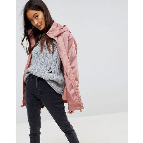 cfd9957fa806d Rain jacket with bum bag - pink (ASOS DESIGN) opinie + recenzje ...