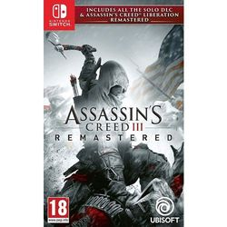Ubisoft Assassins creed 3 liberation remastered gra nintendo switch darmowy transport