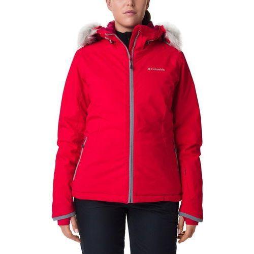 COLUMBIA Alpine Slide Jacket Red Lily M