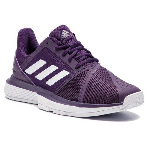 9eb3af65366a5 Adidas Buty - courtjam bounce w cg6355 legpur ftwwht msilve