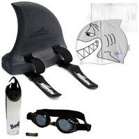Okulary czepek płetwa do nauki pływania dla dzieci