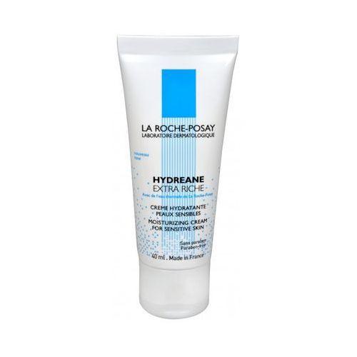 Hydreane riche intensywnie nawilżający krem do wrażliwej bardzo suchej skóry (moisturizing cream, extra riche) 40 ml La roche-posay