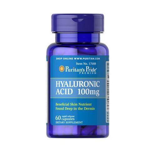 Kwas Hialuronowy 100 mg 60kaps PURITAN'S PRIDE