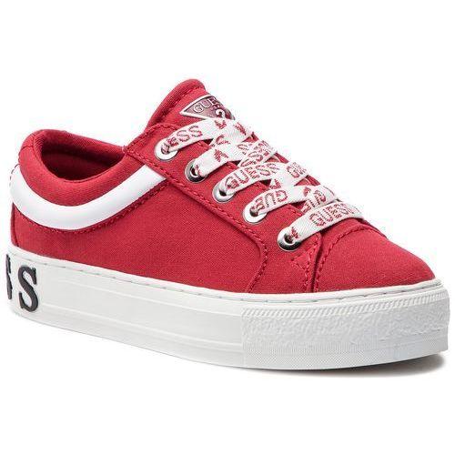 Tenisówki - fl5ly4 fab12 red marki Guess