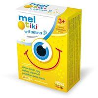 Tabletki Meltiki Witamina D 3+ tabletki do ssania o smaku waniliowym 60szt.