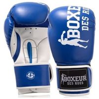 Rękawice bokserskie BOXEUR BXT-5124 (rozmiar 14 oz) Niebiesko-biały