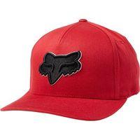czapka z daszkiem FOX - Epicycle Flexfit Hat Red (003)