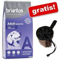 14 kg Briantos karma dla psa + Torba na smakołyki Trixie Dog Activity Baggy Deluxe gratis! - Adult, jagnięcina i ryż| DARMOWA Dostawa od 89 zł + Promocje od zooplus!| -5% Rabat dla nowych klientów