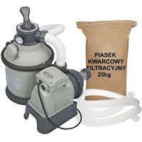 ZESTAW Pompa piaskowa Intex 4m3/h + PIASEK 28644GS