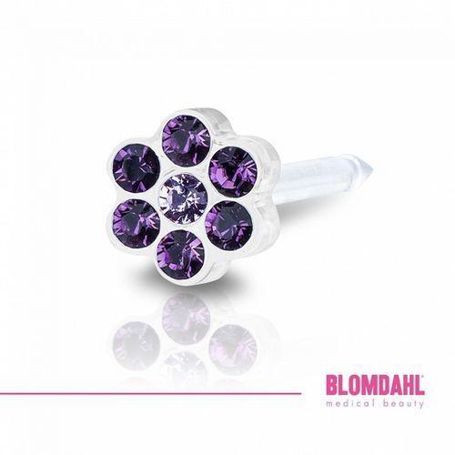 Blomdahl light amethyst / amethyst 5 mm