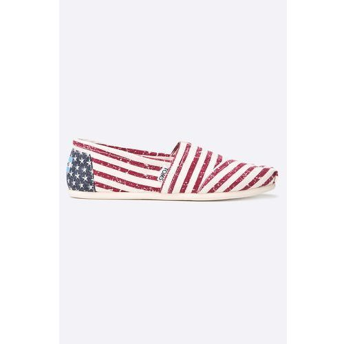 Toms - espadryle canvas flag womens alpargata