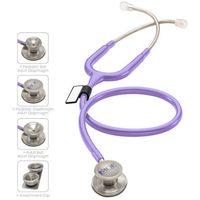Stetoskop MDF MD One Epoch 777DT z TYTANU z głowicą 4w1 - pastelowa purpura