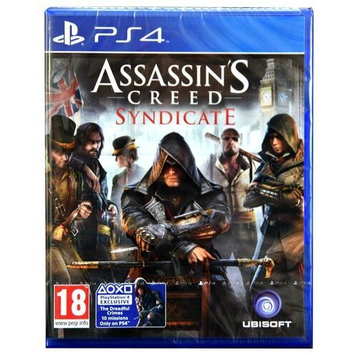 Assassin's Creed: Syndicate Edycja Charnig Cross PL PS4