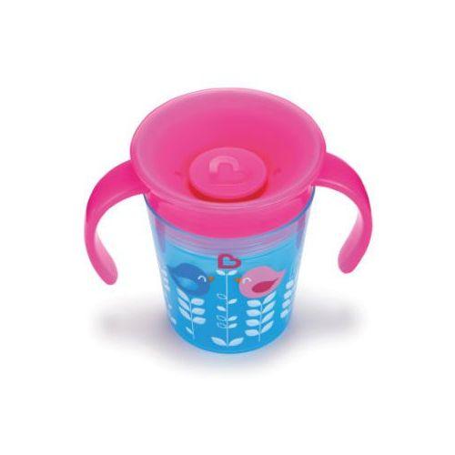 Miracle® 360° kubek niekapek 177 ml boy kolor niebieski/kolor różowy Munchkin