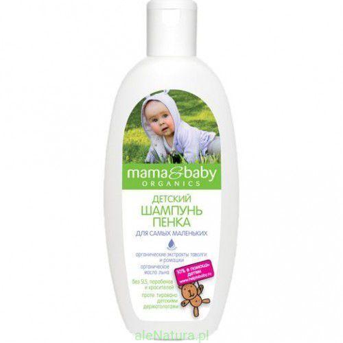 Delikatny szampon dla dzieci bez mydła i łez 300 ml Mama&baby