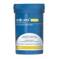 BICAPS® MSM (Metylosulfonylometan), 60 kapsułek