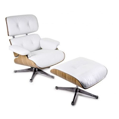 Fotel vip inspirowany lounge chair - czarny ||rosewood marki D2.design
