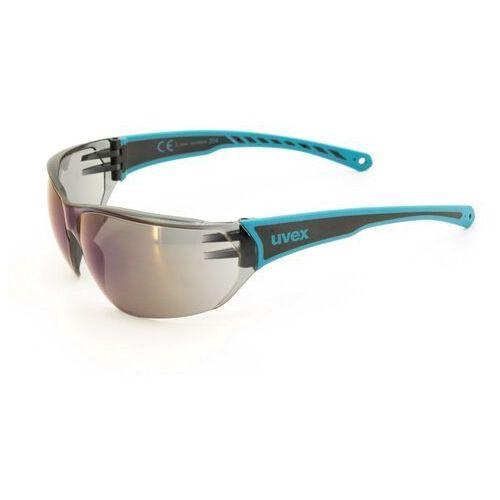 UVEX sportstyle 204 Okulary rowerowe niebieski/czarny 2018 Okulary, O0341