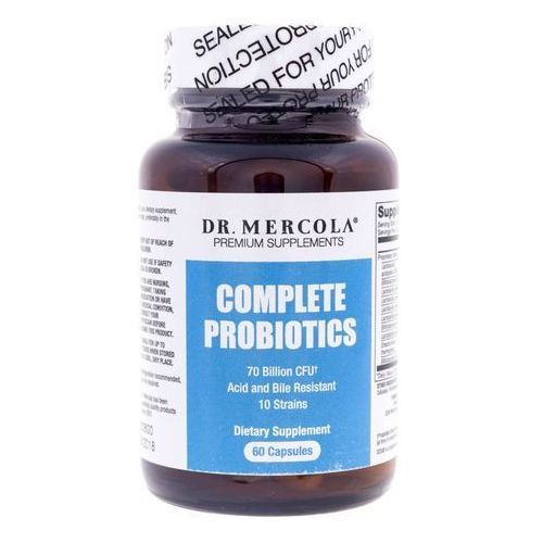 Kapsułki Dr Mercola Probiotyki (Complete Probiotics) 270 mg - 60 kapsułek