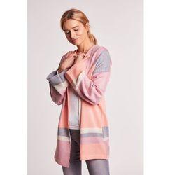 Luźny sweter z kapturem kim marki Balladine