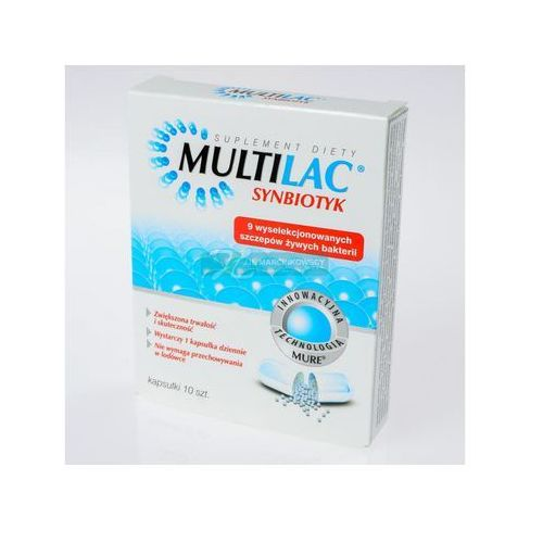 Multilac kaps. - 10 kaps. (blister.)