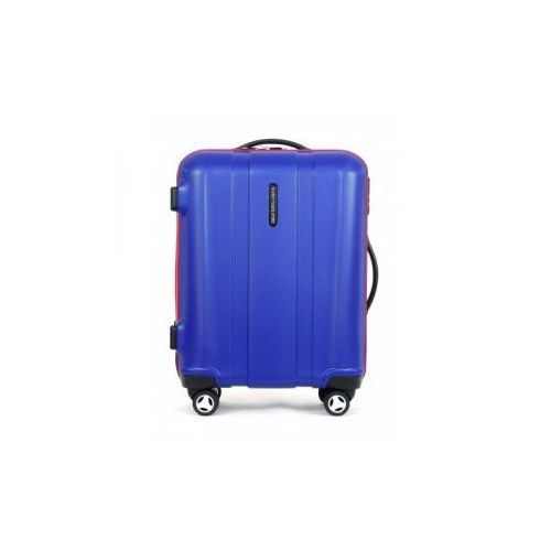 MARCO VIAGGIATORE model MV003 walizka mała/ kabinowa 4 koła materiał ABS zamek szyfrowy