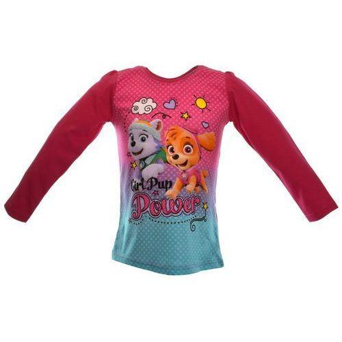 Licencja - inne Bluzka dla dzieci z postaciami z bajki psi patrol - różowy   kolorowy