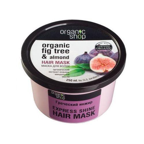 Organic Shop Ekspresowa maska do włosów w wyciągu z fig i migdałów 250ml, BS OS