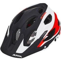 Alpina carapax kask rowerowy czerwony/czarny 52-57cm 2018 kaski rowerowe