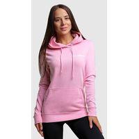 GymBeam Damska bluza z kapturem PRO Baby pink