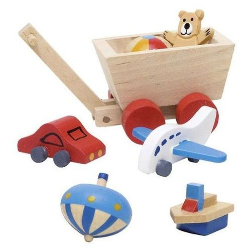 Akcesoria do pokoju dziecka - zabawki, 7 elementów (4013594519380)