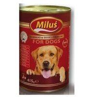Certech/benek Miluś karma dla psa kawałki drobiowe w sosie 415g