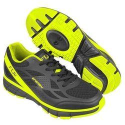 Buty Sport FLR Energy, 47, czarno-żółte neon